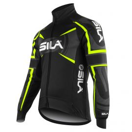 PRO THERMAL WINTER JACKET SILA TEAM - NEON YELLOW