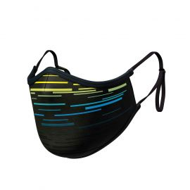 LASER YELLOW Mask ADJUSTABLE - Ergo Form - Filtration 2 - UNS2