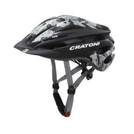 HELMET CRATONI PACER JUNIOR - BLACK MATTE / ANTHRACITE