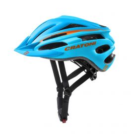 CRATONI HELMET PACER - ORANGE / BLUE