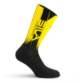 SILA MEDIUM HEIGHT PRO AERO SOCKS - YELLOW