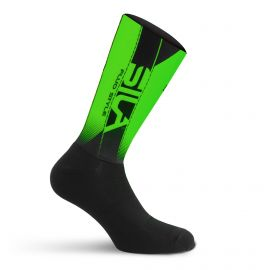 SILA MEDIUM HEIGHT PRO AERO SOCKS - GREEN