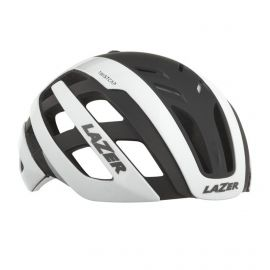 HELMET LAZER CENTURY - WHITE/BLACK + LED