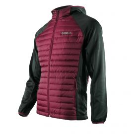 WINTER JACKET SILA - GARNET