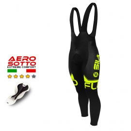 CYCLING BIB TIGHTS SILA FLUO STYLE 3- YELLOW