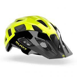 HELMET RUDY PROJECT - BLACK / YELLOW NEON