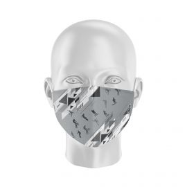 Mask FREESTYLE GREY SILA - Form Coque - Filtration 1 - UNS1