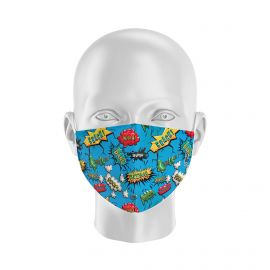 Mask BANG BLUE SILA - Form Coque - Filtration 1 - UNS1