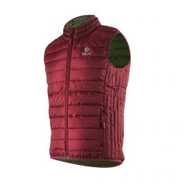 WINTER JACKET Sleeveless SILA Garnet - WOMEN
