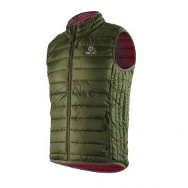 WINTER JACKET Sleeveless SILA Green - WOMEN