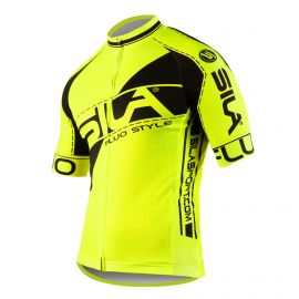 JERSEY SILA FLUO STYLE 3 Plus - YELLOW - Short sleeves