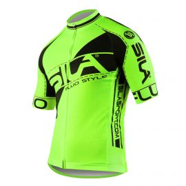 JERSEY SILA FLUO STYLE 3 Plus - GREEN - Short sleeves