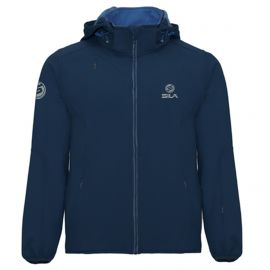 SOFTSHELL JACKET SPORT WITH HOOD SILA - BLUE NAVY