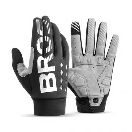 LONG GLOVES THERMAL MTB ROCKBROS DIAMOND - BLACK