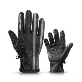 LONG GLOVES THERMAL ROCKBROS WARMER - BLACK