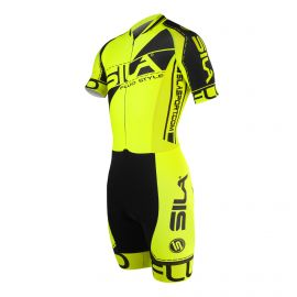 SKATING SUIT SILA FLUO STYLE 3 PLUS - Short sleeves