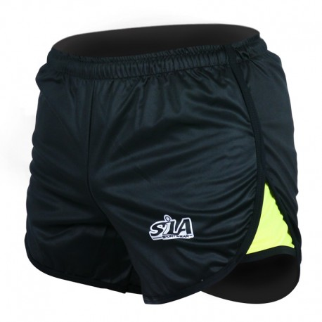 SHORT COURT FLUO STYLE 2 YELLOW