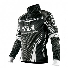 WINTER THERMAL JACKET CARBON STYLE WHITE