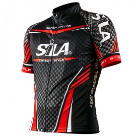 SHORT SLEEVE JERSEY CARBON STYLE Red