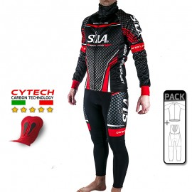 PACK HIVER Cyclisme - SILA CARBON STYLE RED