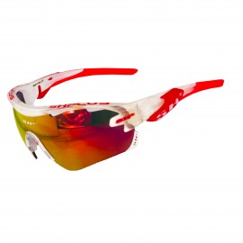 LUNETTES SH+ RG 5100 Crystal Blanc / Rouge