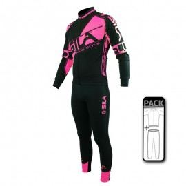 PACK ECHAUFFEMENT FLUO STYLE 3 - ROSE