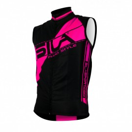 GILET COUPE VENT SILA FLUO STYLE 3 ROSE