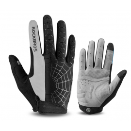 GANTS LONG MTB ROCKBROS - SPIDER gris
