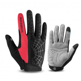 GANTS LONG MTB ROCKBROS - SPIDER Rouge