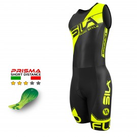 TRI SUITS SILA FLUO STYLE 3 YELLOW - MEN - SL